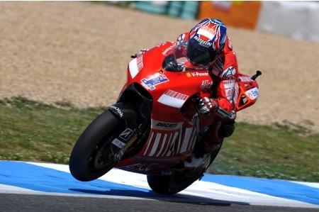 Ducati y Stoner deberían brillar en China