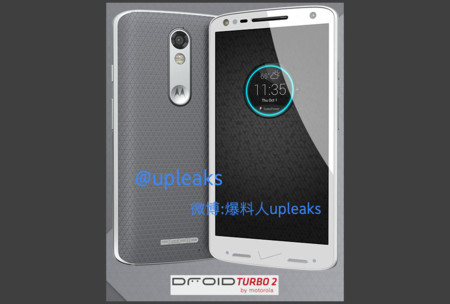 Render filtrado del posible Moto Droid Turbo 2
