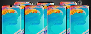 Móviles todo pantalla y el dilema de la cámara frontal: todas las alternativas (además del 'notch')