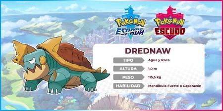 Pokémon Espada y Escudo - Drednaw