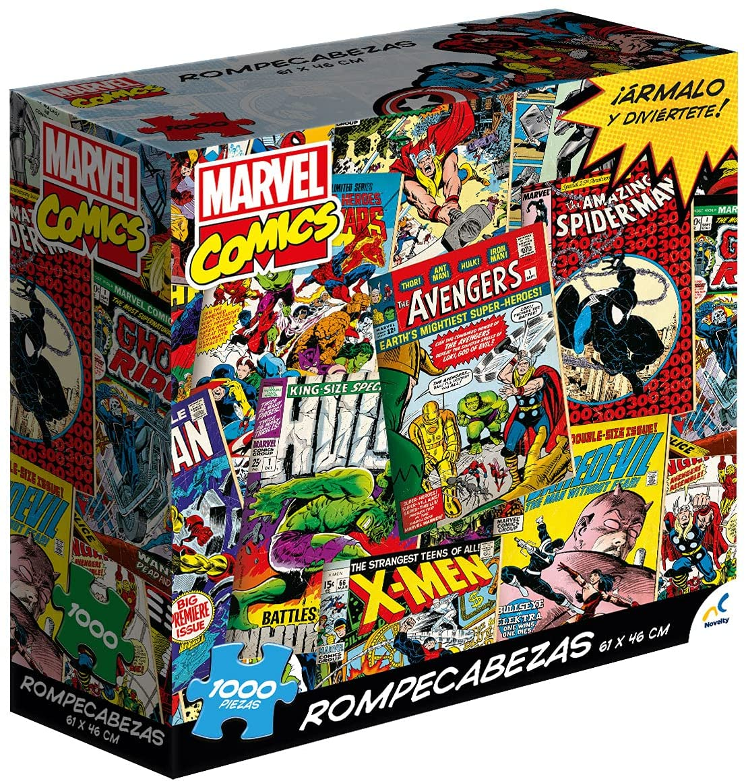 Rompecabezas Novelty de cómics de Marvel de 1,000 piezas