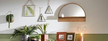 15 espejos bonitos por menos de 50 euros para dar vida a las paredes de tu casa