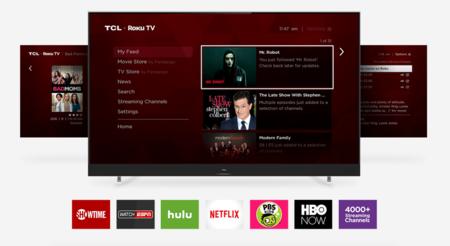 TCL ya tiene listos sus nuevas familias de televisores equipados con Roku y soporte para Dolby Vision y HDR10