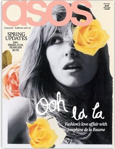 El chic francés de Josephine de la Baume, la chica de abril de Asos Magazine