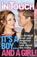 Angelina dará a luz a sus mellizos en Francia