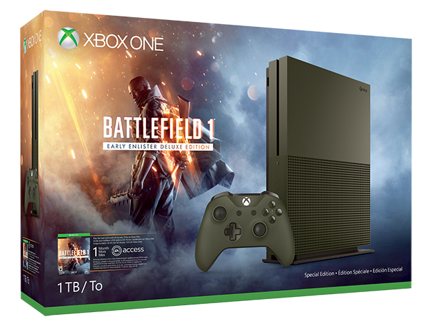 Xbox One S Battlefield 1 Pack