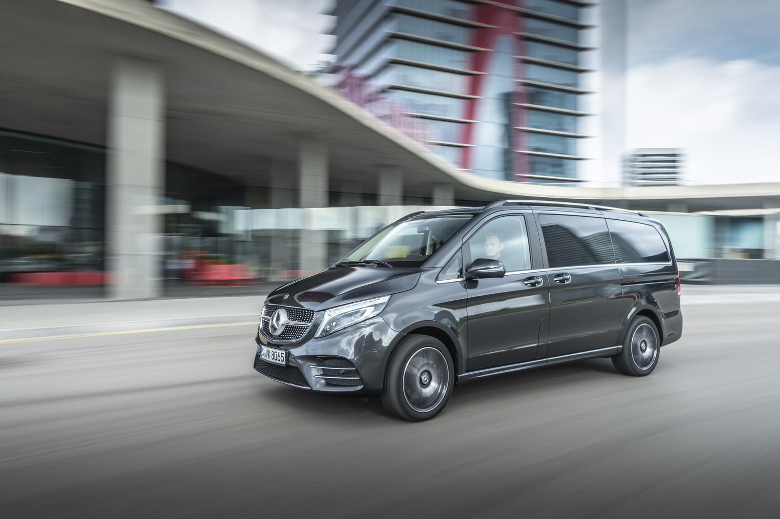 Foto de Mercedes-Benz Clase V 2019 (45/92)