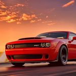 Video: Con un simple cambio de llantas el Dodge Challenger SRT Demon acaricia los 330 km/h