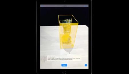 ARKit 2 escanea en 3D un objeto a través de puntos de función