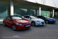 Honda CR-Z contra sus rivales gasolina y diesel