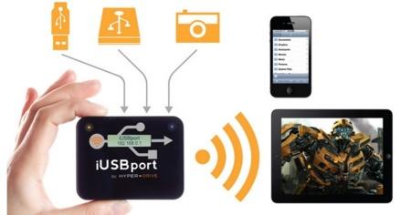Hyper iUSBport2 quiere ser el concentrador USB WiFi de tu hogar