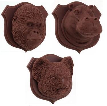 Trofeos de caza de chocolate