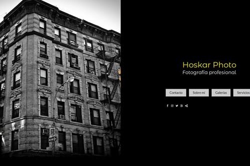 Probamos el servicio web de Arcadina creando nuestra propia página profesional de fotografía (I)
