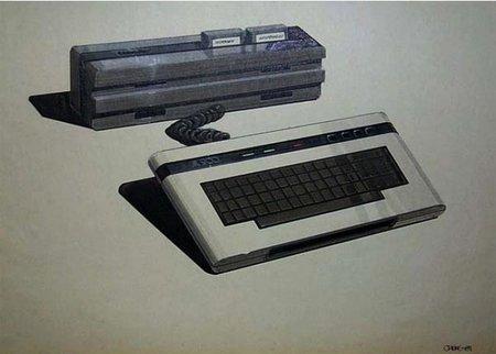 Bocetos conceptuales de Ataris descartados