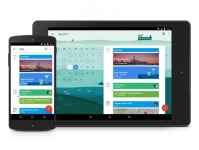 """Google Calendar para Android recibirá su respectiva actualización a """"Material Design"""""""