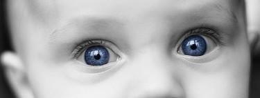 El color de ojos del bebé: cuándo se define