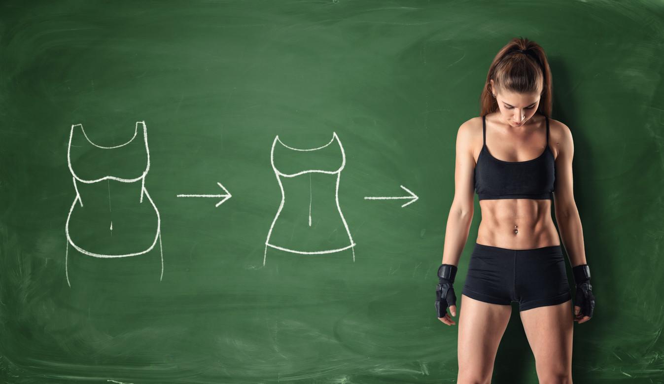 Rutina perdida de peso mujer