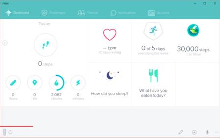 La aplicación de Fitbit para Windows 10 se pone guapa y afina su funcionamiento