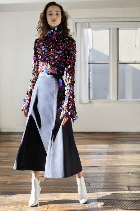 Carolina Herrera NY Pre Fall 2018: una maravillosa colección que no tiene nada que envidiar a las de Alta Costura