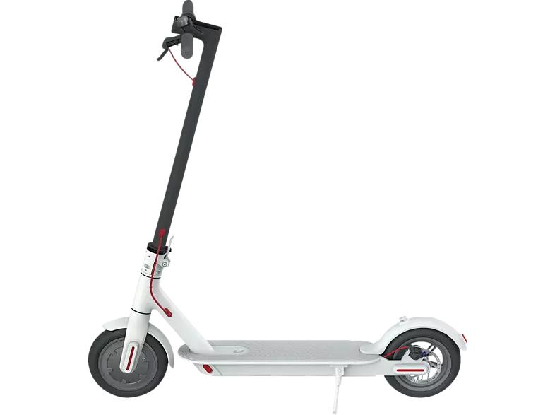 Patinete eléctrico - Xiaomi Mi Electric Scooter M365, 25 km/h, Autonomía 30 km, Plegable, Blanco