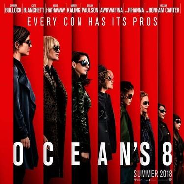 Ocean's 8 molará tanto que las mujeres tomarán el control