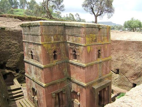 Biet Ghiorgis, una iglesia tallada en un bloque de piedra