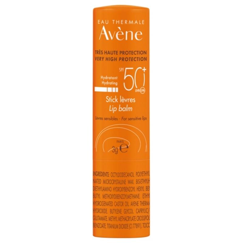 Solaire Haute Protection stick lèvres SPF50 de Avène