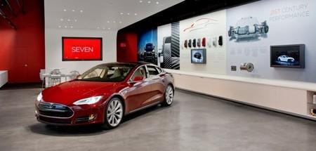 Tesla tienda Londres