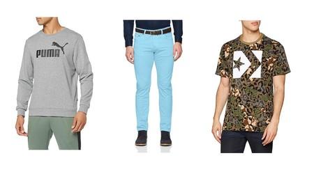 9 ofertas en camisetas, sudaderas y pantalones Converse, Lee, Desigual o El Ganso por menos de 30 euros en Amazon