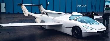 Este coche se transforma en un avión y viceversa: ya ha realizado con éxito su vuelo inaugural de prueba