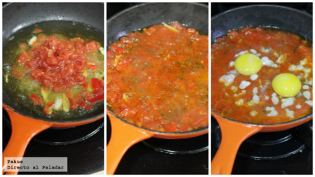 Huevos All Arrabiata
