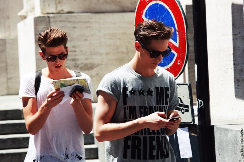 Foto de Más modelos sueltos por las calles de Milán y París (5/17)