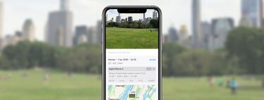 Fotos en iOS 15 nos muestra los datos EXIF de los contenidos y la app responsable de las imágenes