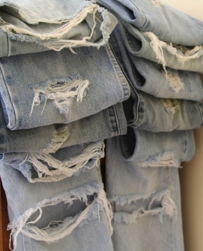 Recicla tus viejos jeans IV