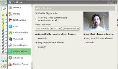 Skype por fin introduce el vídeo en su versión para Linux