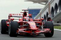 Ferrari empieza al frente en Turquía