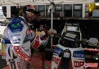 """Chaleco"" López afronta su recuperación de cara a estar listo para el Dakar 2012"