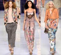 Etro primavera-verano 2010 en la Semana de la Moda de Milán