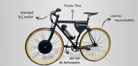 La empresa mexicana VETELIA presenta Urbi, una bicicleta eléctrica más económica pero menos potente
