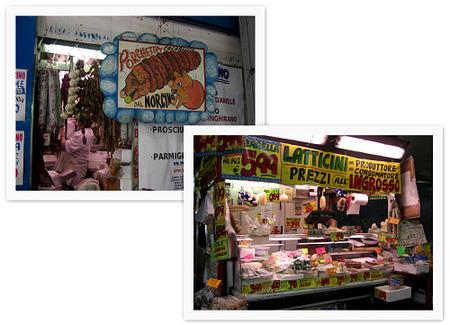 Mercado de Testaccio. Norcino