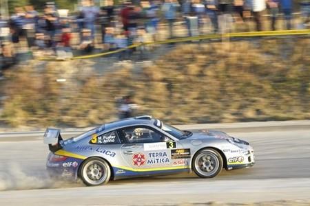Miguel Fuster ultima su programa en el Nacional con un Ford Fiesta R5