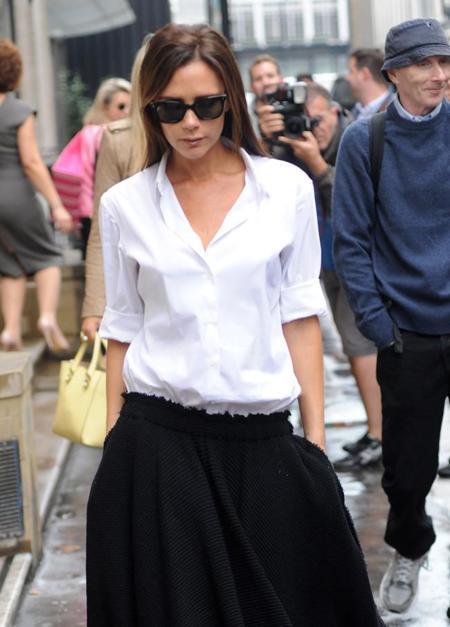 Los mejores looks working girl son los de Victoria Beckham