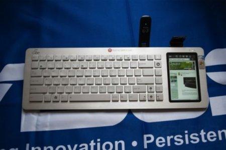 Asus Eee Keyboard, probamos el innovador teclado con pantalla táctil en su presentación en España