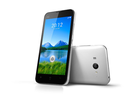 Xiaomi Mi Two, cuatro núcleos, 2GB de RAM y Jelly Bean