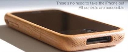 iWood: La carcasa de madera para el iPhone