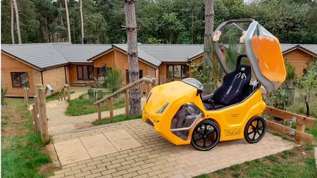 Drycicle, la bicicleta eléctrica que quería ser un coche