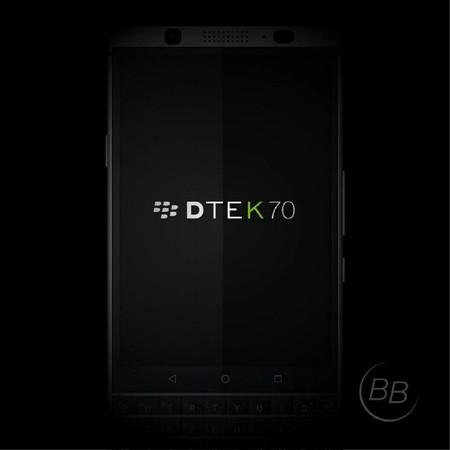 La BlackBerry DTEK70 'Mercury' se deja ver en renders antes de su anuncio oficial