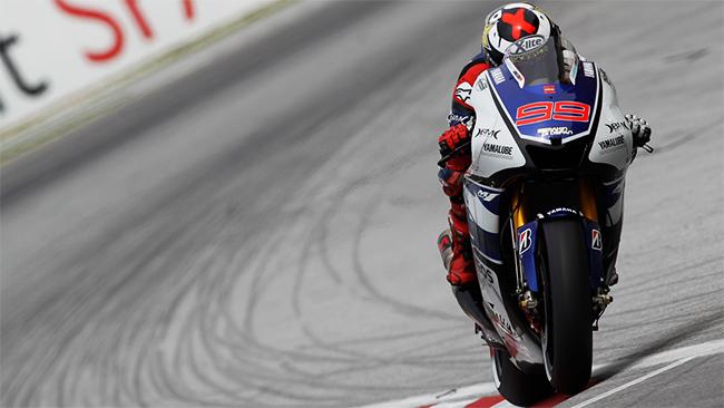 Jorge Lorenzo MotoGP 2012