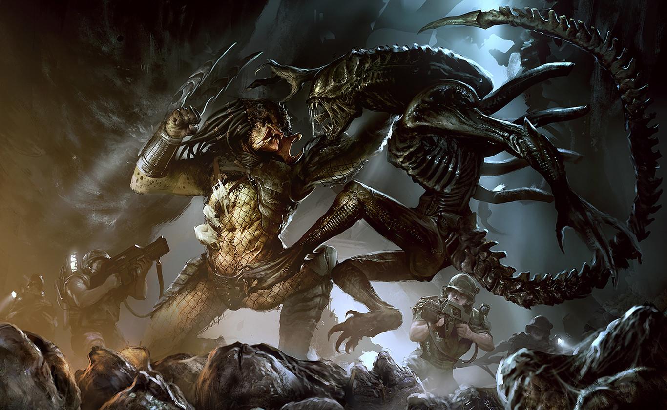 Alien Vs Predator Así Ha Sido El Choque De Extraterrestres En Comics Cine Y Videojuegos