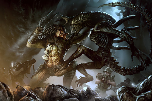 'Alien vs. Predator': así ha sido el choque de extraterrestres en comics, cine y videojuegos